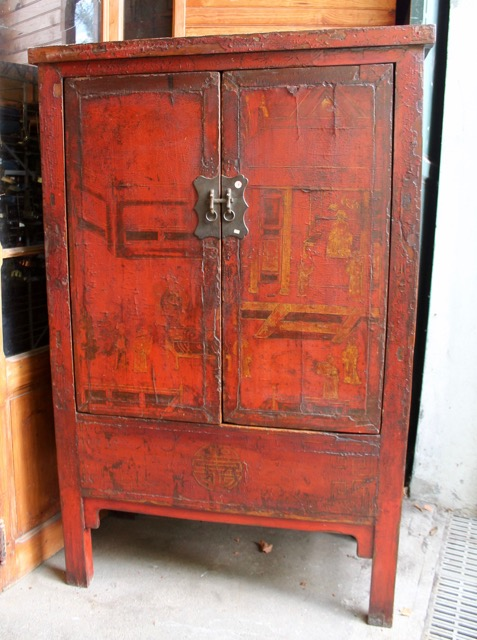 armoire ancienne chinoise origine shanxi puces d 39 oc. Black Bedroom Furniture Sets. Home Design Ideas