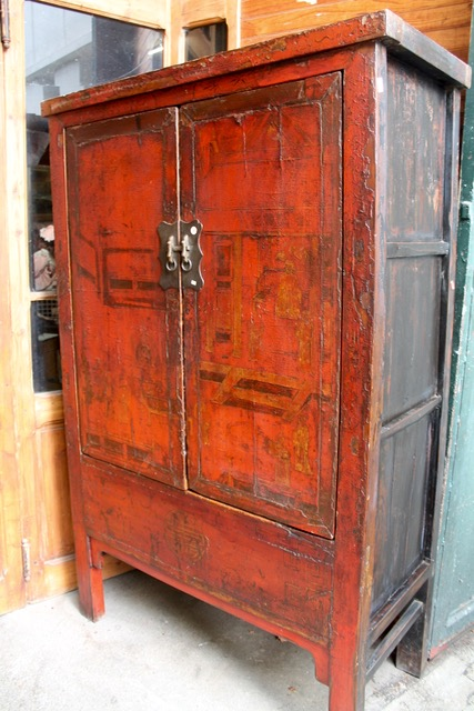 armoire ancienne chinoise origine shanxi puces d 39 oc brocante en ligne. Black Bedroom Furniture Sets. Home Design Ideas