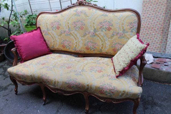 Canapé de Style Louis XV – Puces d\'Oc Brocante en Ligne