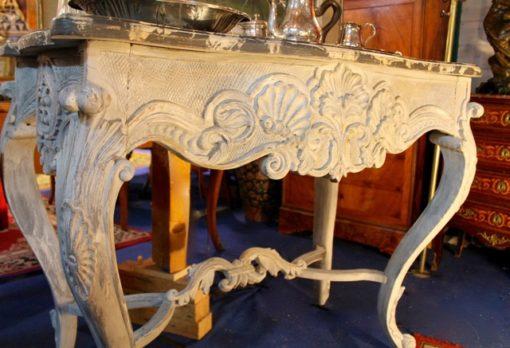 Console de Style Louis XV en bois