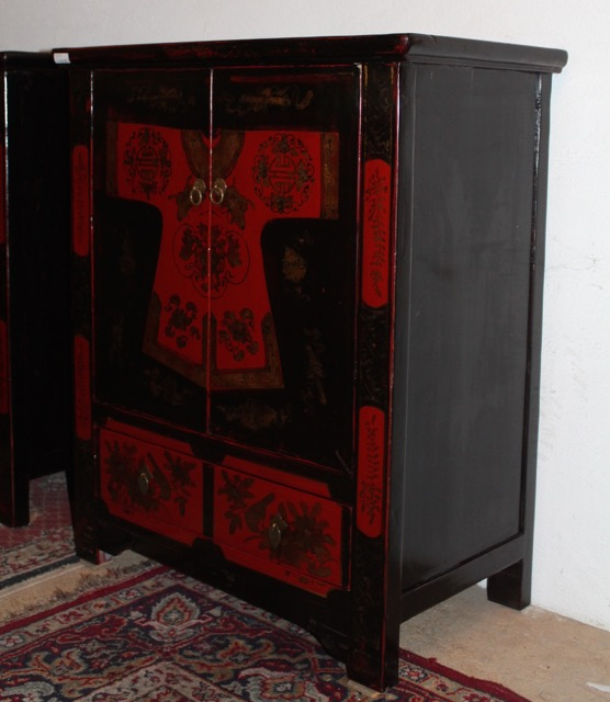 buffets chinois d cors kimono puces d 39 oc. Black Bedroom Furniture Sets. Home Design Ideas
