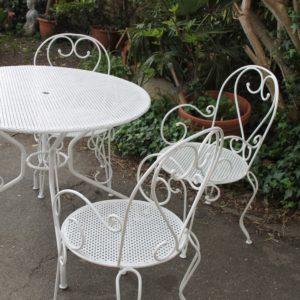 Table De Jardin Fer Forge.Salon De Jardin Fer Forge