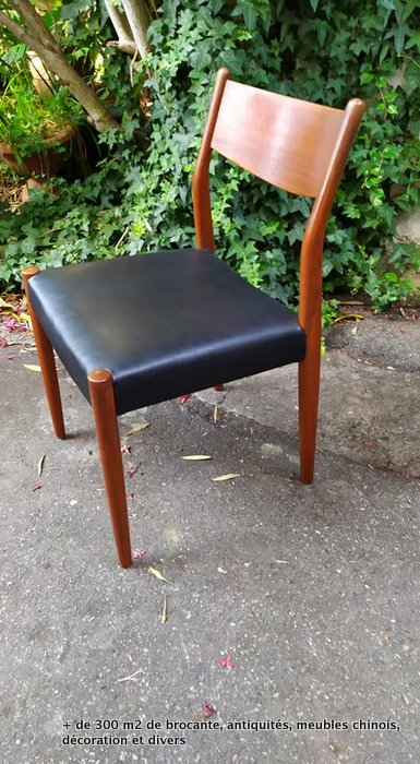 chaise vintage danois