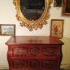 commode ancienne peinte