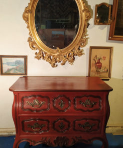 commode ancienne peinte