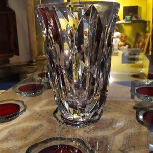 Vase cristal st louis