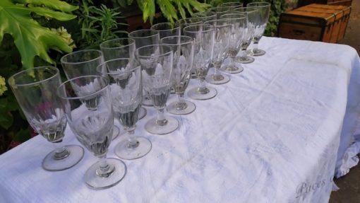 verre ancien souffle