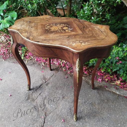 table violonnée napoléon III