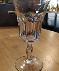 verre baccarat ancien