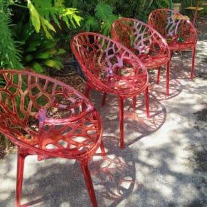 fauteuil polypropylene