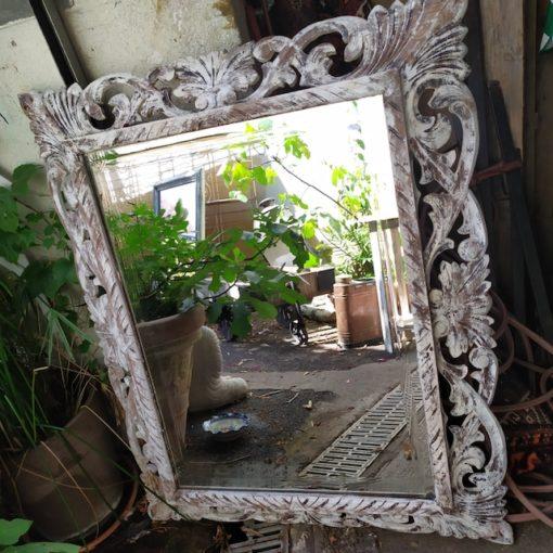 miroir peint