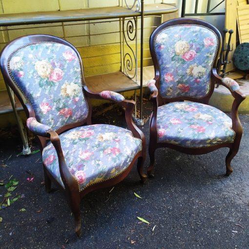 fauteuils louis philippe