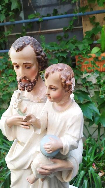 platre st joseph a l'enfant jesus