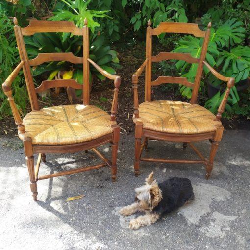 fauteuil provençal