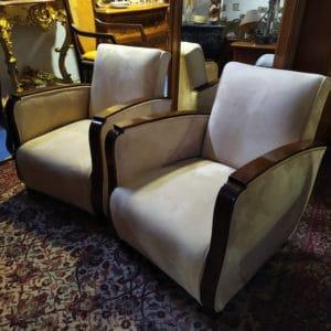 fauteuils art deco