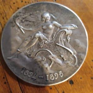 medaille argent automobile club de france