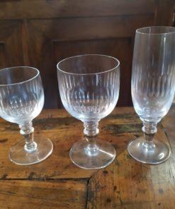 verres cristal