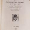 dictionnaire des poinçons de maîtres-orfèvres français du xive à 1838. Préface de M. la clavière
