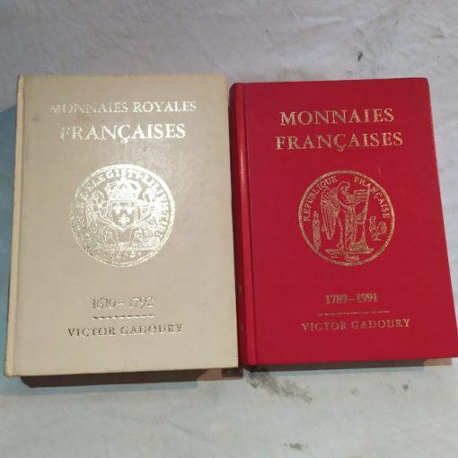livre monnaies francaises et monnaies royales Françaisevictor gadoury