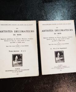 Les Artistes Décorateurs du Bois. 2/2. Henri Vial, Adrien Marcel et André Girodie
