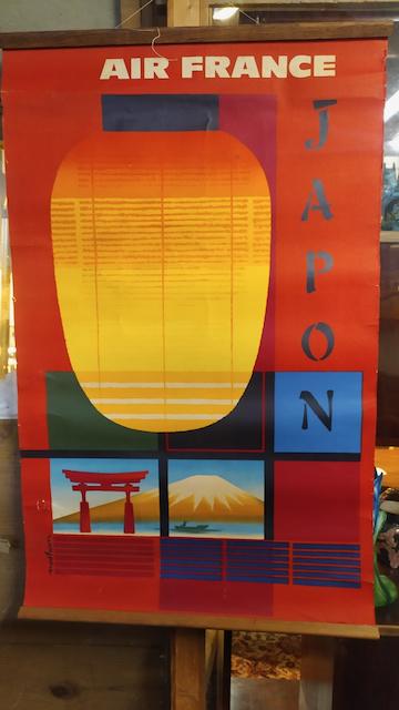 affiche air france japon