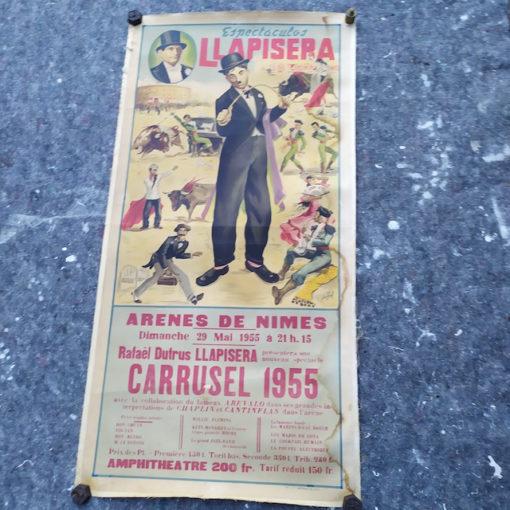 affiche corrida llapisera