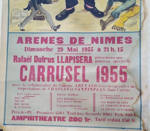 affiche taurine llapisera