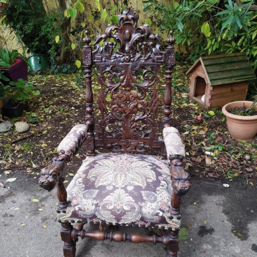 fauteuil style renaissance