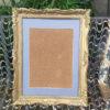 cadre bois doré