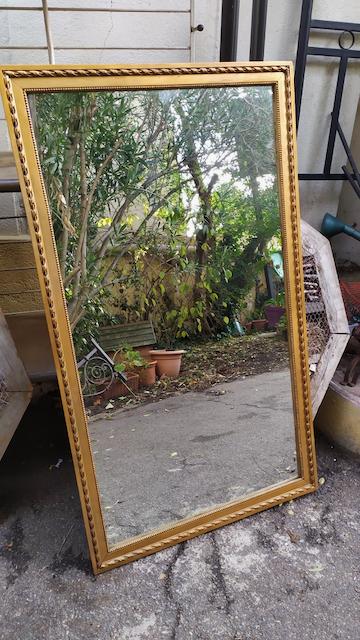 miroir doré 1930