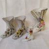chaussures en porcelaine