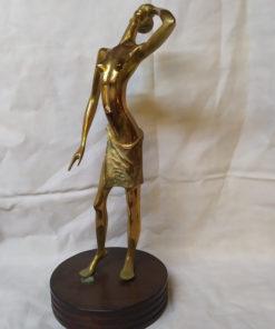 statue en bronze afrique