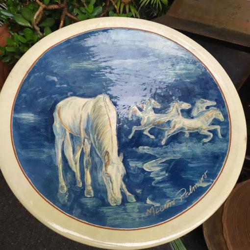 plat ceramique