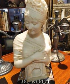 buste marbre madame recamier