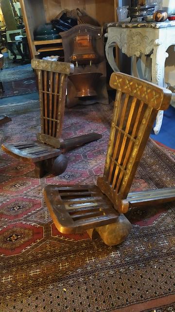fauteuils indiens