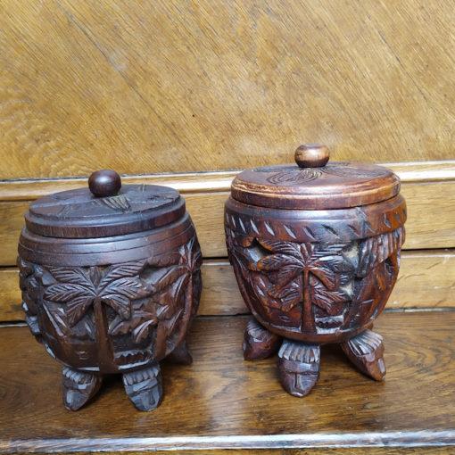 pot en bois Madagascar