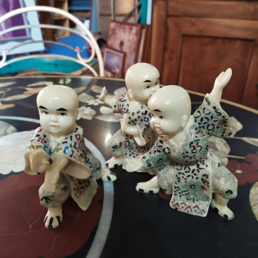 sujet chinois imitation ivoire