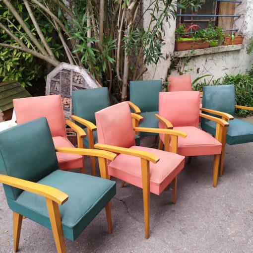 fauteuils années 40