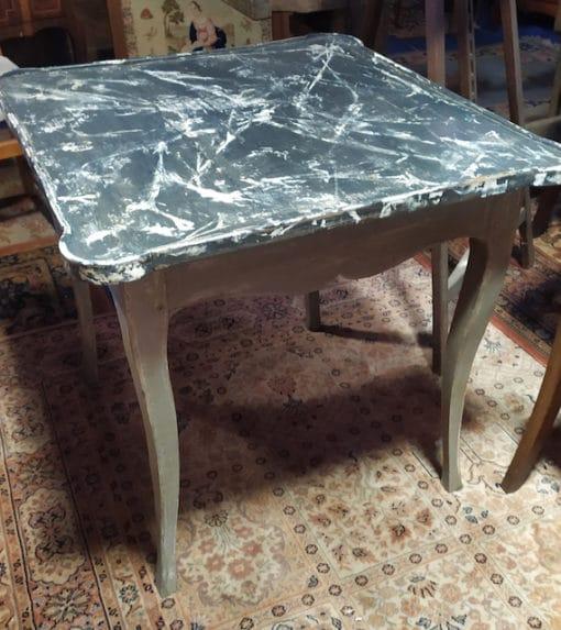 table ancienne peinte