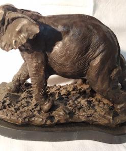 elephant bronze