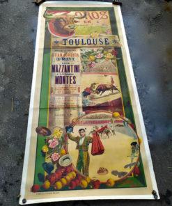 affiche tauromachie