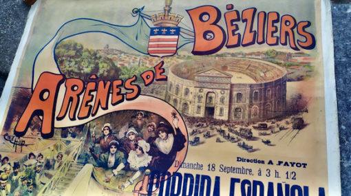 affiche ancienne corrida