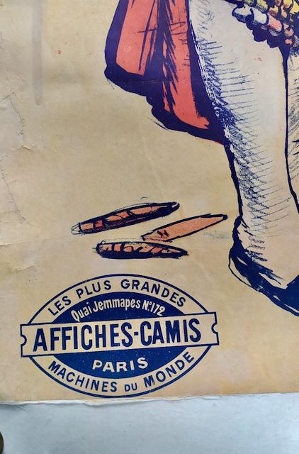 affiche ancienne corrida beziers