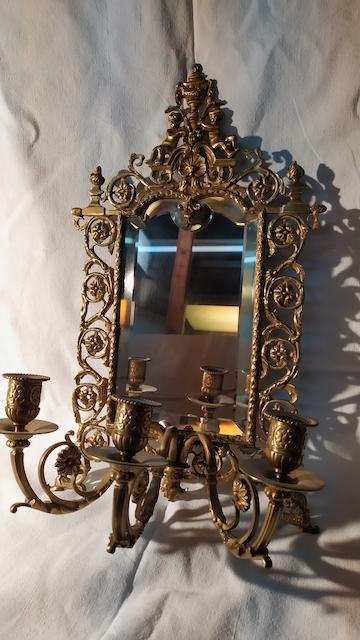 miroir bronze napoleon III