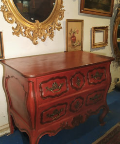 commode patinee
