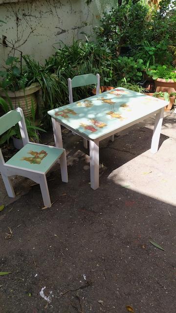 table et chaises pour enfants brocante toulouse