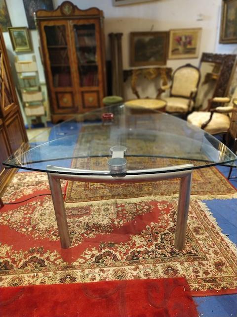 table plateau verre pas cher