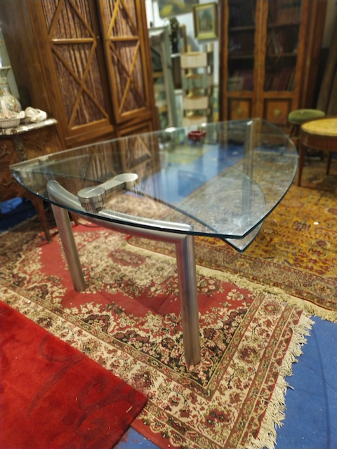 table plateau verre