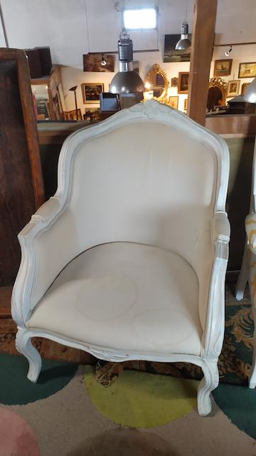 fauteuil a restaurer