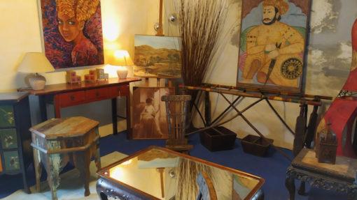 mobilier nomade mauritanie